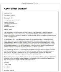 Cover Letter Sample Opportunity Adriangatton Com