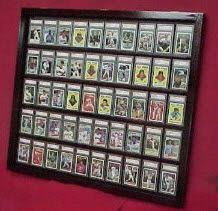 Baseball Card Display Stand NEW 100 HOLE BASEBALL CARD DISPLAY FRAME AND MAT horizontal or 2