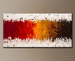 large abstract art painting luminescence