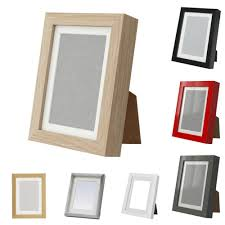 ikea ribba photo frames various colours thick 18 x 24 cm