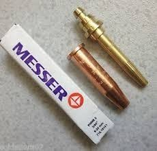 Electric Brass Messer Gas Cutting Nozzle Automation Grade