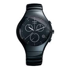 rado true jubile chronograph black ceramic black dial men s rado true jubile chronograph black ceramic black dial men s bracelet watch