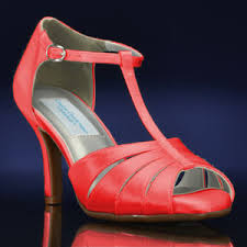 coral wedding shoes. Martina by Dyeables at BridalShoescom