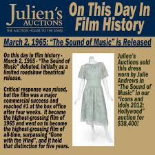 We're turning it up to 11 with this week in music history featuring spinal tap, john belushi, the yardbirds, metallica, the beastie boys, and more. Uzivatel Juliens Auctions Na Twitteru On This Day In Film History March 2 1965 The Sound Of Music Debuted Initially As A Limited Roadshow Theatrical Release Filmhistory Https T Co Losjoylroj