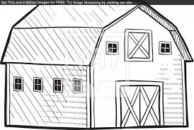 Fashionable Inspiration Barn Coloring Page Best Pages Free To Print
