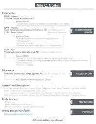 Creative Designer Resume Graphic Freelance Artist Samples For