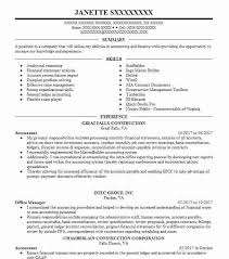 Objective Accounting Resumes Accountant Objectives Resume Objective Livecareer