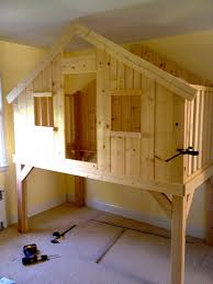 img build kids loft clubhouse for low bunk beds toddler ideas space saving small rooms youth