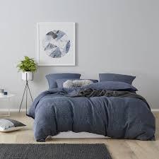 Home Republic - Vintage Washed Navy Check - Bedroom Quilt Covers ... & Home Republic - Vintage Washed Navy Check - Bedroom Quilt Covers &  Coverlets - Adairs online Adamdwight.com