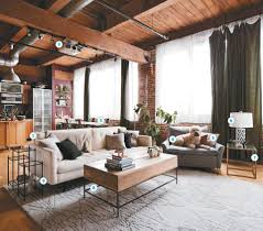 Loft Living For Newlyweds Lofts - Decorating loft apartments