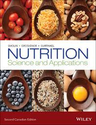 Nutrition Science And Applications 2nd Canadian Edition Life