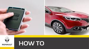 <b>Renault KADJAR</b> – Keyless technology - YouTube