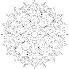Free Coloring Pages Mandala Coloring Pages Mandala Mandala Coloring
