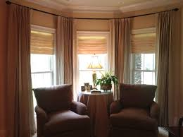 Living Room Bay Window Curtains For Bay Windows In Living Room Fascinating Ideas Sheer
