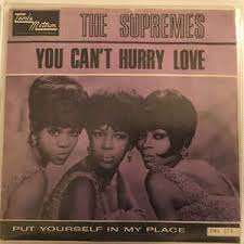 Bm em am d she said, love don't come easy, it's a game of give and take. The Supremes You Can T Hurry Love Put Yourself In My Place 1965 Vinyl Discogs