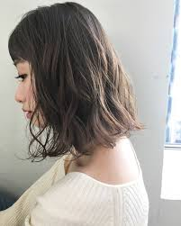 ミディアムパーマのヘアカタログ25選黒髪前髪あり前髪なしゆるふわ