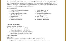 Executive Administrative Assistant Resume Resume Template