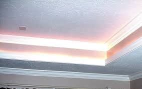 ceiling tray lighting. tray ceiling with rope lighting many of the electricians i asked said that there were n