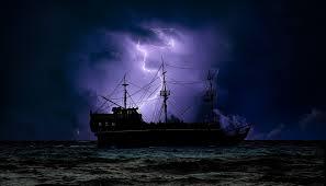 「ブログ用 イラスト 無料 船 嵐」の画像検索結果