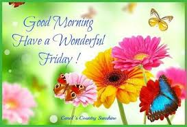 Good Morning Friday Quotes Custom Butterflies Flowers Friday Morning Friday Quotes Friday Image