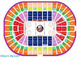 Nassau Veterans Coliseum Seating Chart Nassau Veterans Memorial Coliseum Uniondale Ny Seating