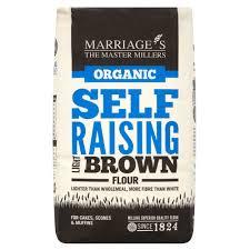 Light Brown Self Raising Flour Light Brown Self Raising Flour Organic 6x1k