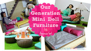 mini doll furniture. Our Generation Lori Furniture Mini Doll
