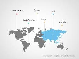 World Map Infographic Powerpoint Template Slidesbase