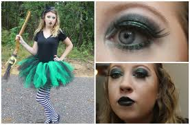wicked witch costume makeup diy tutu you