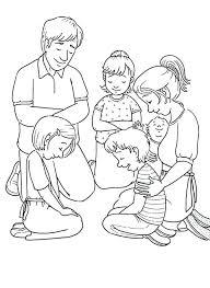 prayer coloring pages children praying page family best ever free serenity prayer coloring pages