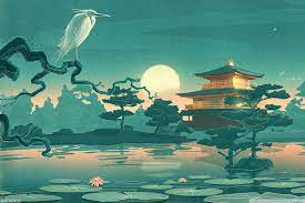Japanese Temple Ultra HD Desktop ...