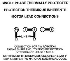 i have an old ge motor that runs an elevator the model number below is the wiring diagram for a 5 lead single voltage single phase motor