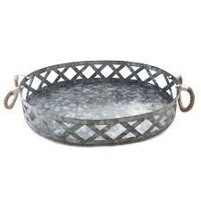 large round outdoor serving tray tray