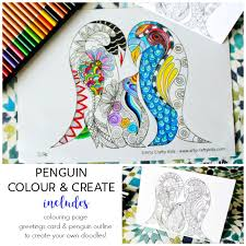 Kids love to color by numbers and we've got a bunch for you to choose from. Penguin Color And Create Free Coloring Page Arty Crafty Kids