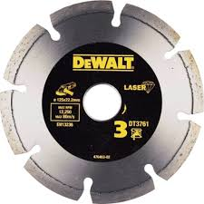<b>Алмазный круг сегментный по</b> граниту DeWalt DT3761-XJ