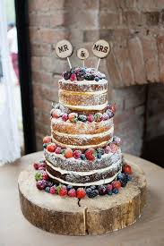 wedding cakes with chocolate fountains. Winter Naked Wedding Cake Inspiration Hot Chocolates Chocolate Fountains In Cakes With