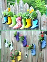 backyard fence decorating ideas outdoor projects lovely wood decor