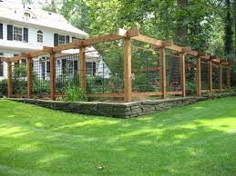 yes a deer fence can be decorative