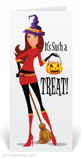 halloween birthday greeting cute witch halloween greeting card 12683 ministry greetings