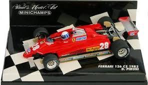 The ferrari 126c was the car with which ferrari raced in the 1981 formula one season. Ferrari 126 C2 Didier Pironi 1982 Model Racing Cars Hobbydb
