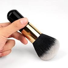 pro lady women black blush brush beauty foundation loose powder makeup brush tools maquiagem high qaulity in makeup brushes tools