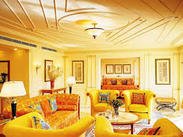 Yellow Wall Living Room Decor Wall Designs For Living Room Rhama Home Decor