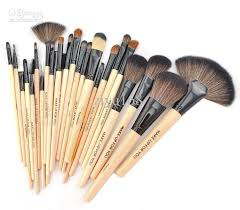 professional makeup brush set make up toiletry kit wool brand case with 21 46