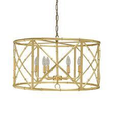 worlds away zia chandelier gold