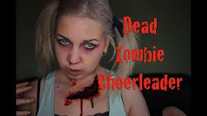 dead zombie cheerleader
