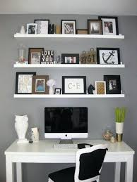 office floating shelves. Floating Shelf Computer Desk Decoration Over The Home Office Wall  Shelving Shelves Creative . L