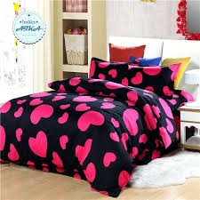 red black duvet covers double bed red black plaid duvet cover love heart bedding sets 3pcs