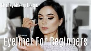 beginner eye liner makeup tips