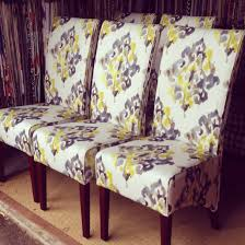 akari furniture. dining chairs with new upholstery from warwick fabrics akari chartreuse furniture r
