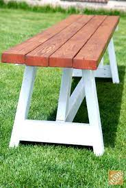 diy project farmhouse bench the home